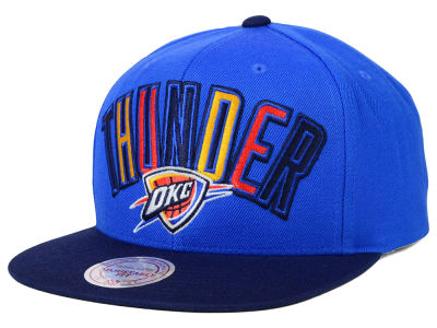 Oklahoma City Thunder Mitchell and Ness NBA Big Poppin Snapback Cap