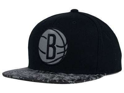 Brooklyn Nets Mitchell and Ness NBA Digi Reflective Snapback Cap