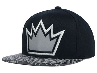 Sacramento Kings Mitchell and Ness NBA Digi Reflective Snapback Cap