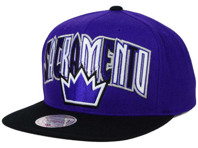 Sacramento Kings Mitchell and Ness NBA Big Poppin Snapback Cap