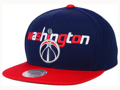 Washington Wizards Mitchell and Ness NBA Big Poppin Snapback Cap
