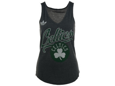 Boston Celtics adidas NBA Women's Flowy V-Neck Tank
