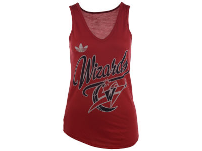Washington Wizards adidas NBA Women's Flowy V-Neck Tank