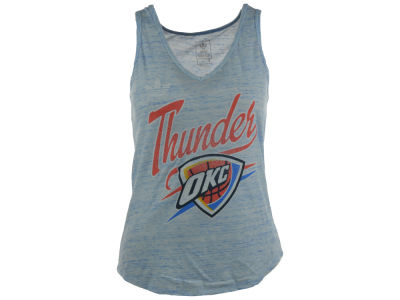 Oklahoma City Thunder adidas NBA Women's Flowy V-Neck Tank