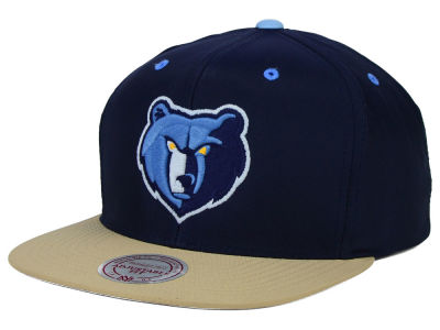 Memphis Grizzlies Mitchell and Ness NBA Butter'd 2 Tone Strapback Cap