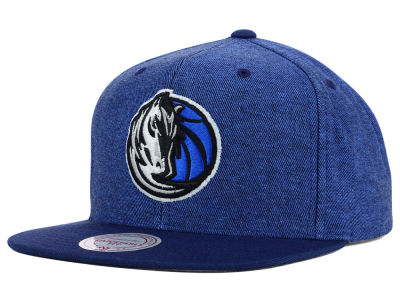 Dallas Mavericks Mitchell and Ness NBA Denim Harry Snapback Cap