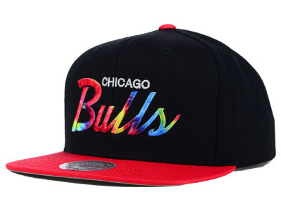 Chicago Bulls Mitchell and Ness NBA Fly Dye Snapback Cap