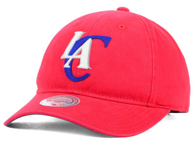 Los Angeles Clippers Mitchell and Ness NBA Felt Logo Fanback Cap