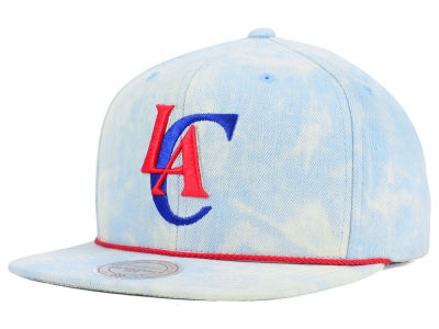 Los Angeles Clippers Mitchell and Ness NBA Light Acid Snapback Cap