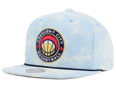 New Orleans Pelicans Mitchell and Ness NBA Light Acid Snapback Cap