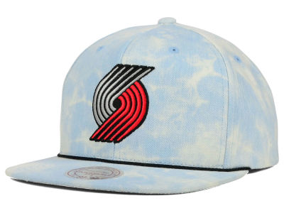 Portland Trail Blazers Mitchell and Ness NBA Light Acid Snapback Cap