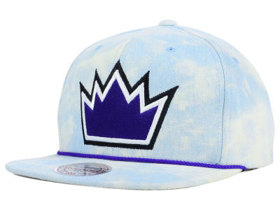 Sacramento Kings Mitchell and Ness NBA Light Acid Snapback Cap