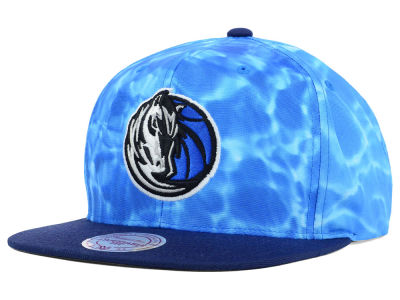 Dallas Mavericks Mitchell and Ness NBA Big Wave Snapback Cap