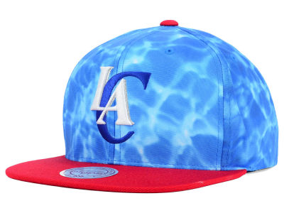 Los Angeles Clippers Mitchell and Ness NBA Big Wave Snapback Cap