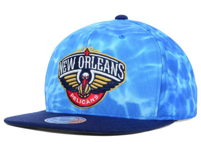 New Orleans Pelicans Mitchell and Ness NBA Big Wave Snapback Cap