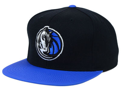 Dallas Mavericks Mitchell and Ness NBA Slate Reflective Fitted Cap