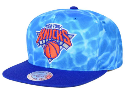 New York Knicks Mitchell and Ness NBA Big Wave Snapback Cap