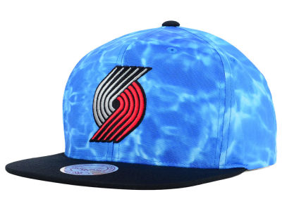 Portland Trail Blazers Mitchell and Ness NBA Big Wave Snapback Cap