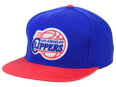 Los Angeles Clippers Mitchell and Ness NBA Slate Reflective Fitted Cap