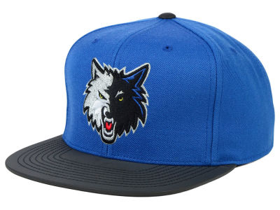 Minnesota Timberwolves Mitchell and Ness NBA Slate Reflective Fitted Cap