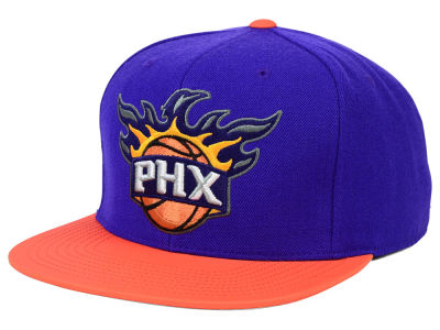 Phoenix Suns Mitchell and Ness NBA Slate Reflective Fitted Cap