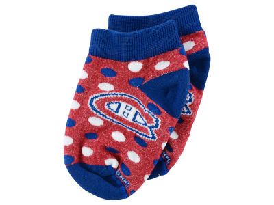 Montreal Canadiens Infant Dot Pattern Socks