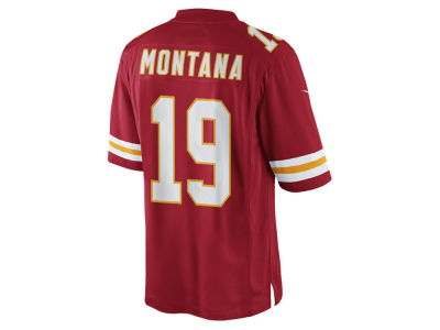 Kansas City Chiefs Joe Montana Nike NFL Men's Limited Jersey