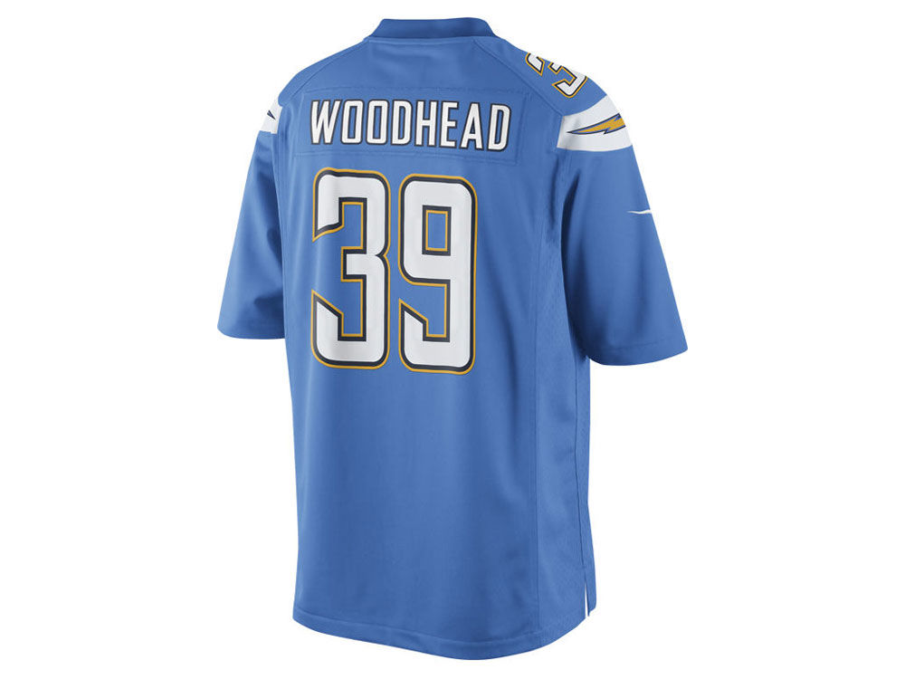 766a7c509 Los Angeles Chargers Danny Woodhead Nike NFL Men s Limited Jersey ...