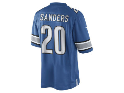 Detroit Lions Barry Sanders Nike NFL Men's Limited Retired Player Jersey