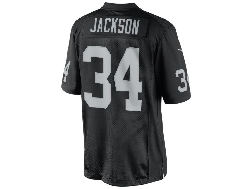 Oakland Raiders Bo Jackson Nike NFL Mens Limited Retired Player Jersey ... f375ff247