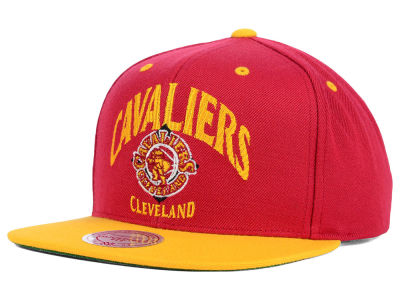 Cleveland Cavaliers Mitchell and Ness NBA Arch 2 Tone Snapback Cap