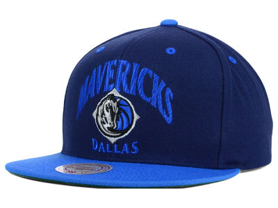 Dallas Mavericks Mitchell and Ness NBA Arch 2 Tone Snapback Cap