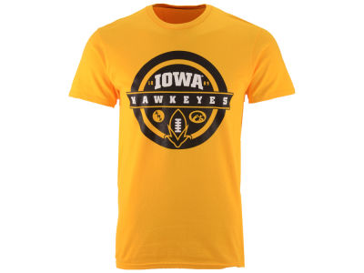 Iowa Hawkeyes NCAA Men's ANF Football Circle T-Shirt