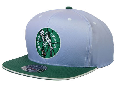 Boston Celtics Mitchell and Ness NBA Faded 2 Tone High Crown Fitted Cap