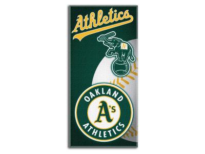 Oakland Athletics Beach Towel Emblem