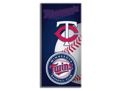 Minnesota Twins Beach Towel Emblem