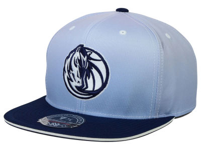 Dallas Mavericks Mitchell and Ness NBA Faded 2 Tone High Crown Fitted Cap