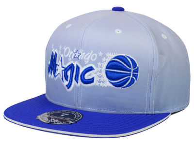 Orlando Magic Mitchell and Ness NBA Faded 2 Tone High Crown Fitted Cap