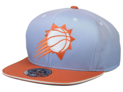 Phoenix Suns Mitchell and Ness NBA Faded 2 Tone High Crown Fitted Cap