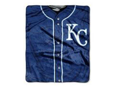 Kansas City Royals 50x60in Plush Throw Jersey