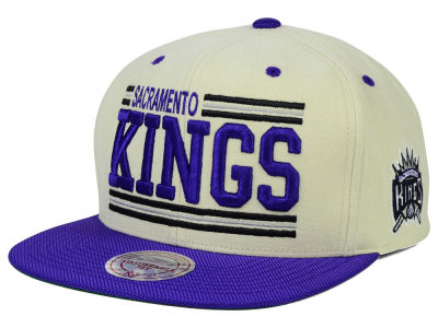 Sacramento Kings Mitchell and Ness NBA Bar'd Up Snapback Cap