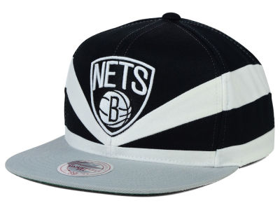 Brooklyn Nets Mitchell and Ness NBA Slasher Snapback Cap