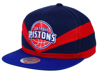Detroit Pistons Mitchell and Ness NBA Slasher Snapback Cap