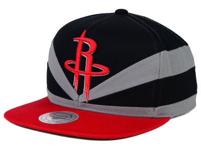 Houston Rockets Mitchell and Ness NBA Slasher Snapback Cap