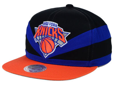 New York Knicks Mitchell and Ness NBA Slasher Snapback Cap