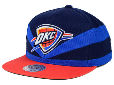 Oklahoma City Thunder Mitchell & Ness NBA Slasher Snapback Cap