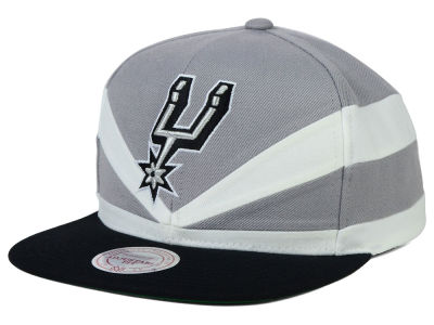 San Antonio Spurs Mitchell and Ness NBA Slasher Snapback Cap