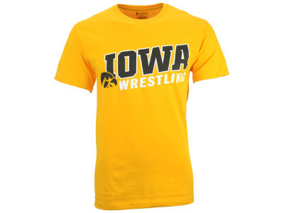 Iowa Hawkeyes NCAA Men's Champion Wrestling T-Shirt