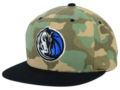 Dallas Mavericks Mitchell and Ness NBA Ambush Fitted Cap