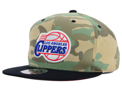 Los Angeles Clippers Mitchell and Ness NBA Ambush Fitted Cap